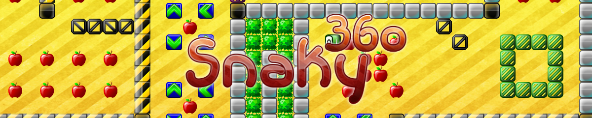Snaky 360 for Android - The snake game renewed: exciting like never before!